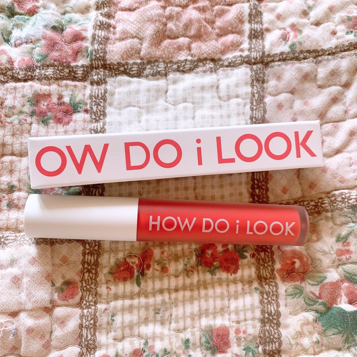 HOW DO i LOOK(ハウドゥアイルック) エマルジョンリップティントを使ったまりたそさんのクチコミ画像