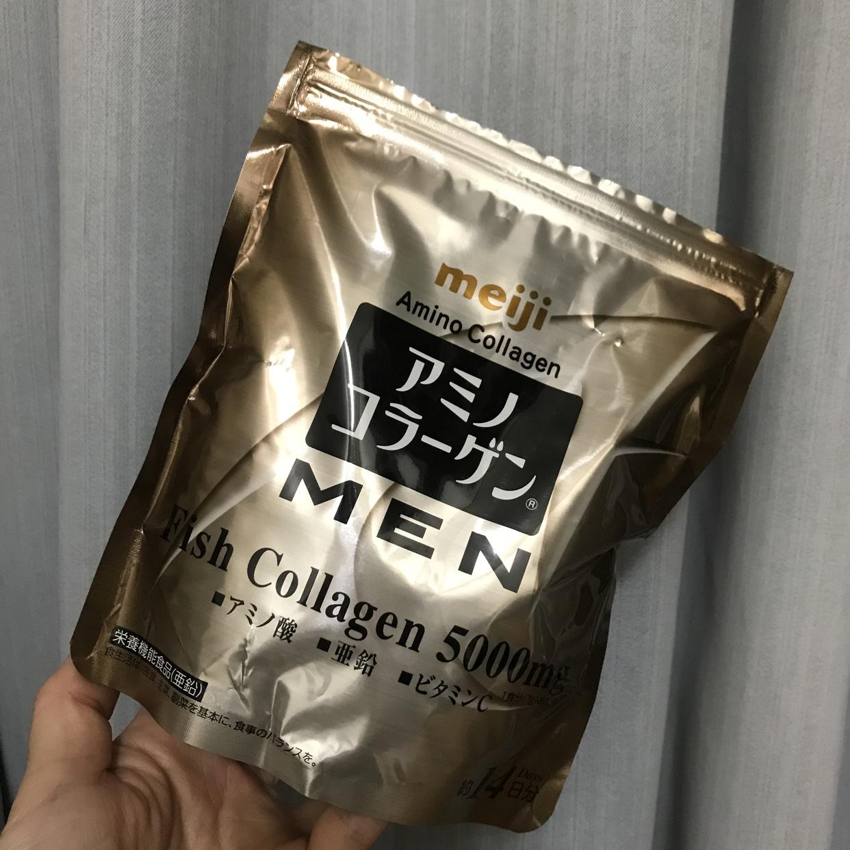 明治(meiji)アミノコラーゲン MENを使ったkannyaさんのクチコミ画像1
