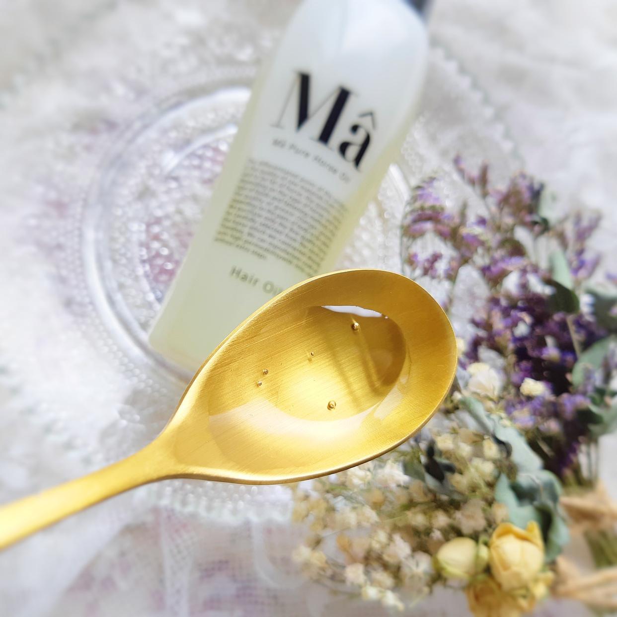 MA(エムエー) ヘアオイルを使った銀麦さんのクチコミ画像3