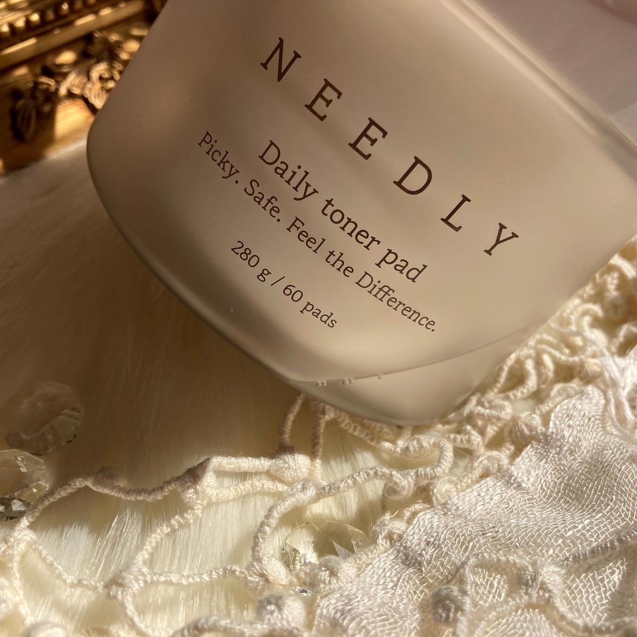 NEEDLY(ニドリー) トナーパッドを使った梅ちゃんさんのクチコミ画像2