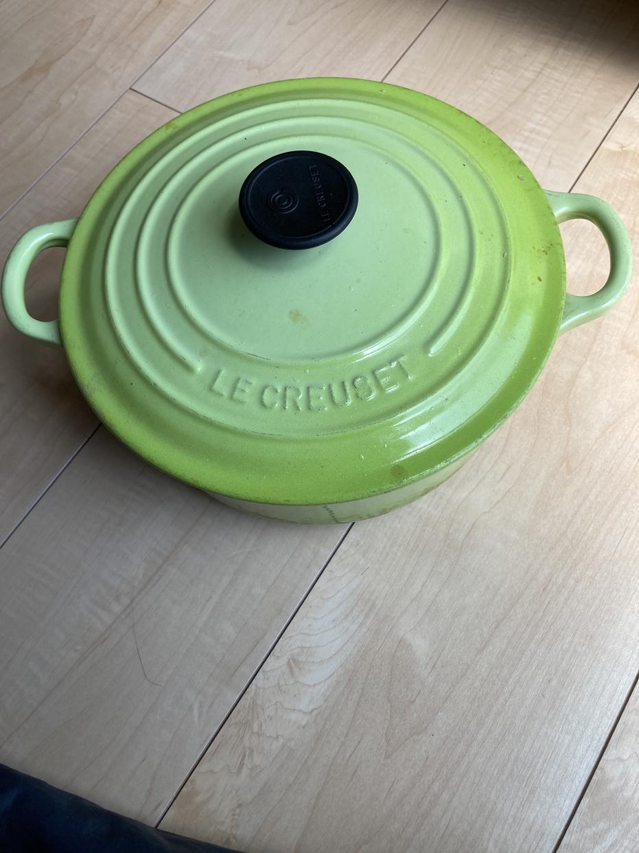 LE CREUSET(ル・クルーゼ)シグニチャー ココット・ロンドを使ったよねさんのクチコミ画像1