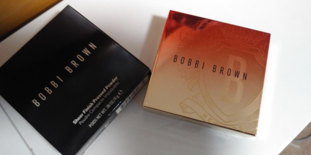 BOBBI BROWN(ボビイブラウン)シアーフィニッシュ プレストパウダーを使ったshortcakeさんのクチコミ画像