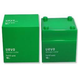 uevo design cube(ウェーボ デザインキューブ)ホールドワックスを使った アメカジ美容師さんの口コミ画像1