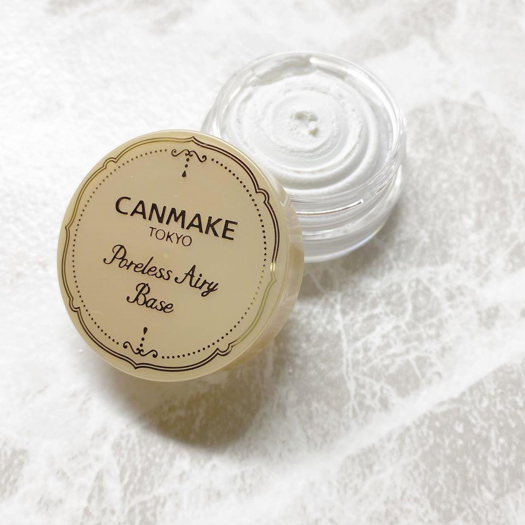 CANMAKE(キャンメイク)ポアレスエアリーベースを使った あっきーさんのクチコミ画像