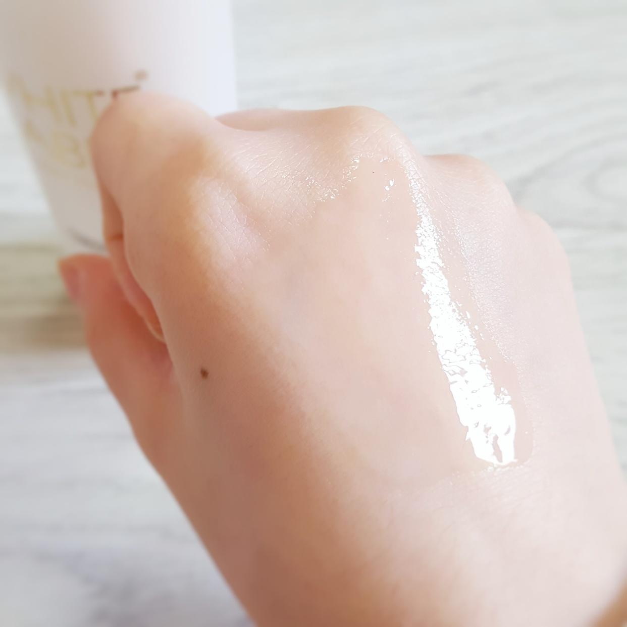 WHITE LABEL+(ホワイトラベルプラス) 薬用プラセンタの美白リフト美容水を使った銀麦さんのクチコミ画像3