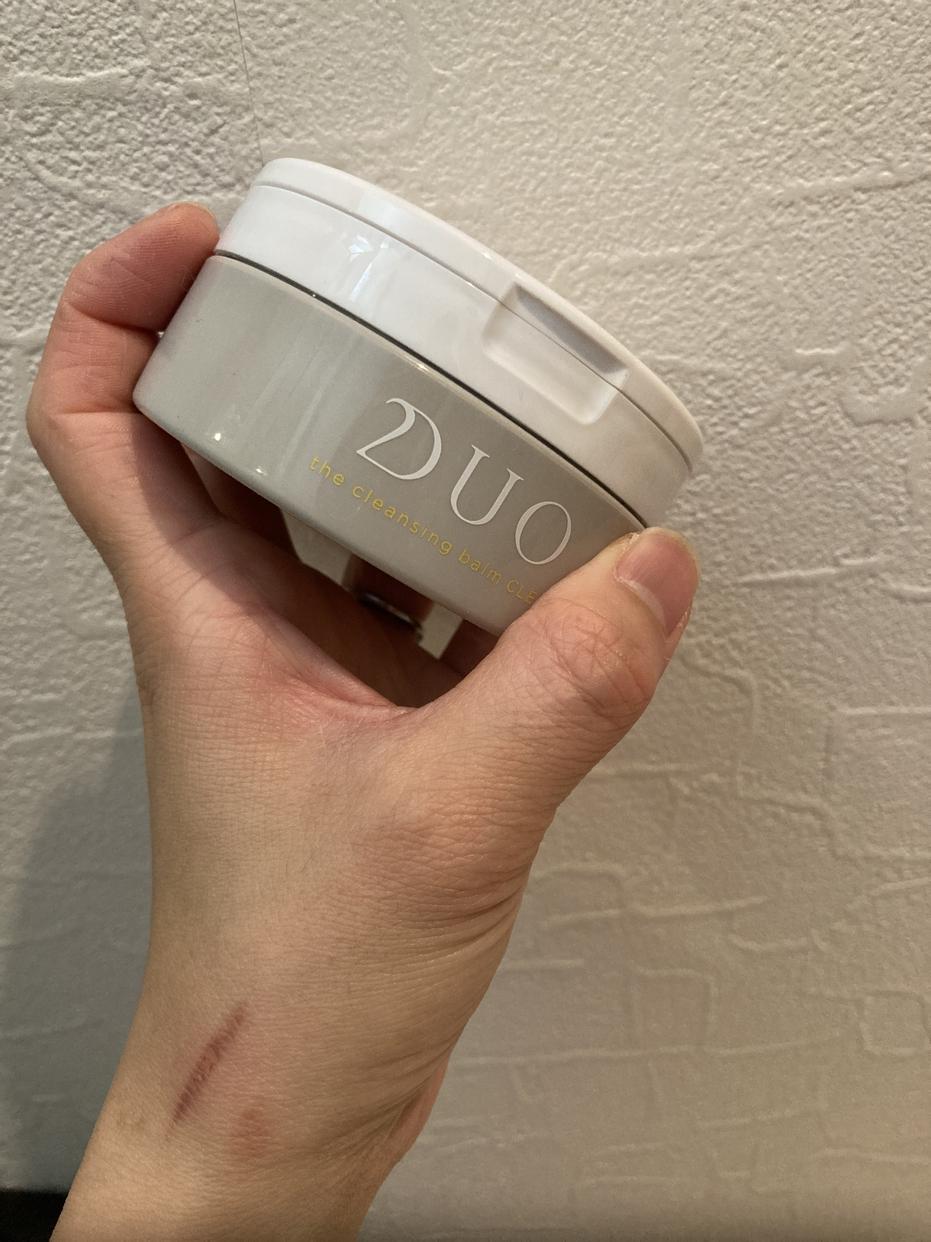 DUO(デュオ) ザ クレンジングバーム ブラックリペアを使ったすーさんのクチコミ画像1
