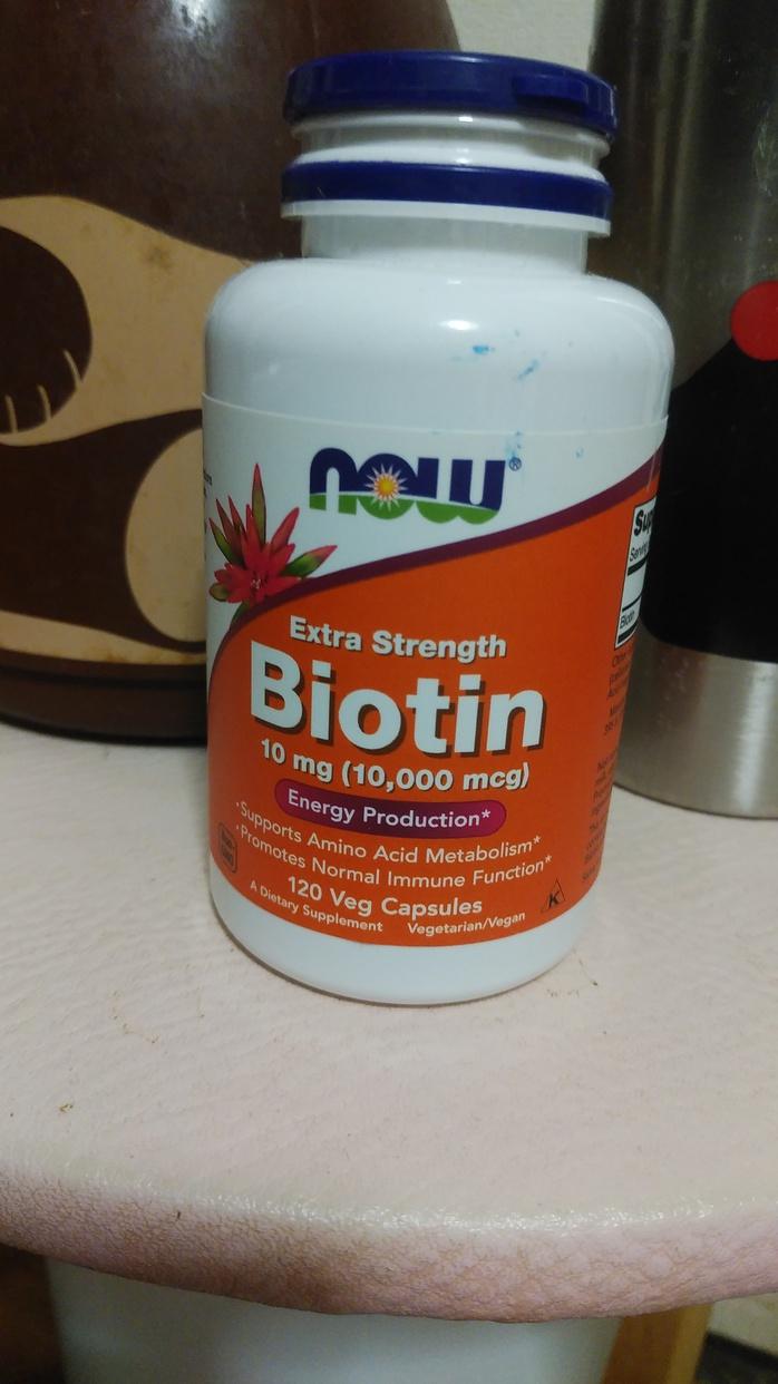 Now Foods(ナウフーズ)ビオチンを使ったまいかるさんのクチコミ画像1