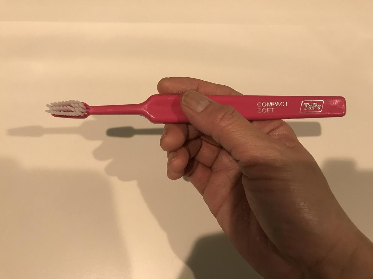 Tepe(テペ) 歯ブラシの良い点・メリットに関するせつなさんの口コミ画像1