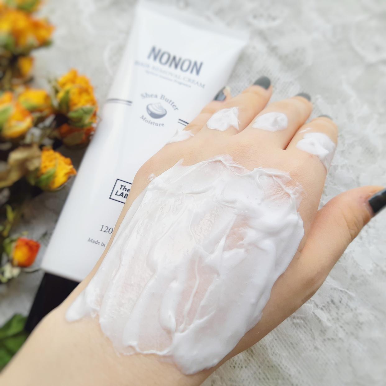 NONON(ノンノン) オールインワン除毛クリームを使った銀麦さんのクチコミ画像3