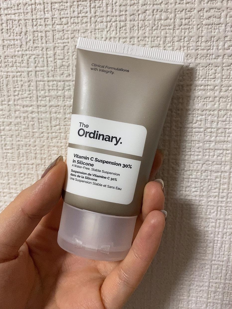 The Ordinary(ジ オーディナリー) ビタミンC サスペンションクリーム 30% シリコンを使ったふっきーさんのクチコミ画像1