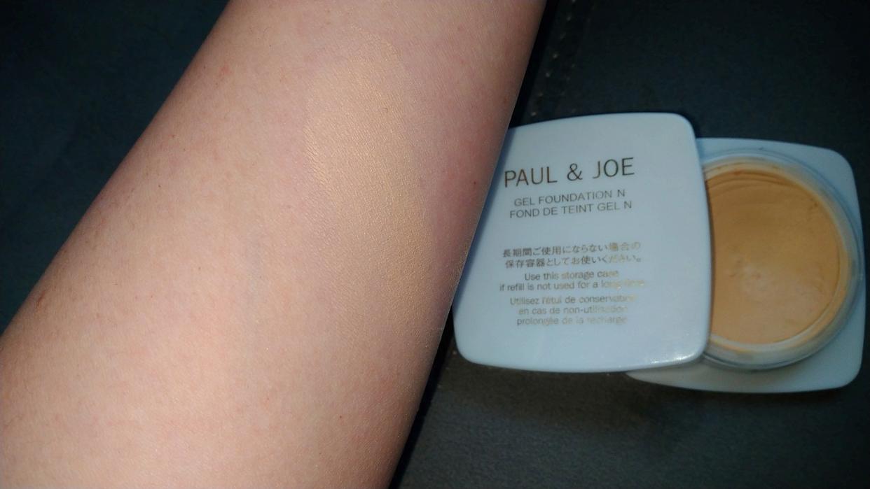 PAUL & JOE BEAUTE(ポールアンドジョー ボーテ) エクラタン ジェル ファンデーション Nを使ったコスメマニア-in-Franceさんのクチコミ画像1
