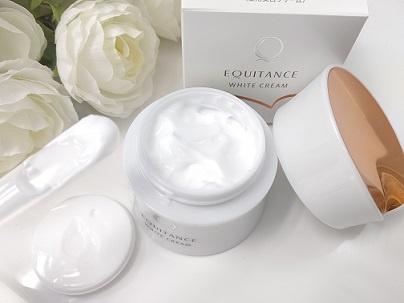 EQUITANCE(エクイタンス) ホワイトクリームを使ったmasumiさんのクチコミ画像1