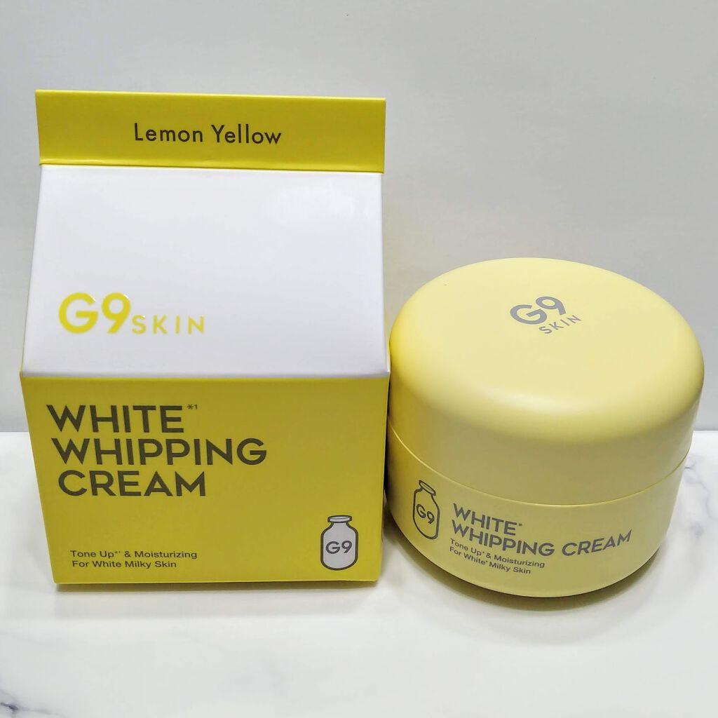 G9SKIN(ジーナインスキン) ホワイト ホイッピング クリームの良い点・メリットに関するむぅさんの口コミ画像1