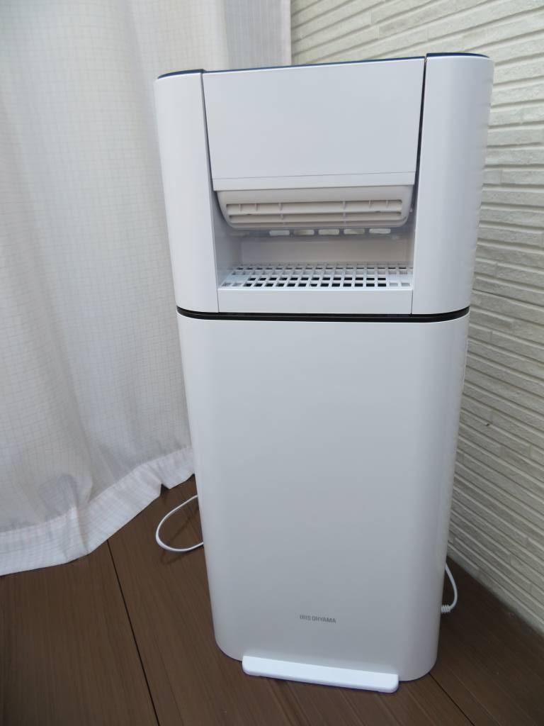 IRIS OHYAMA(アイリスオーヤマ)サーキュレーター衣類乾燥除湿機 IJD-I50を使ったかわいい姉妹ママさんのクチコミ画像3