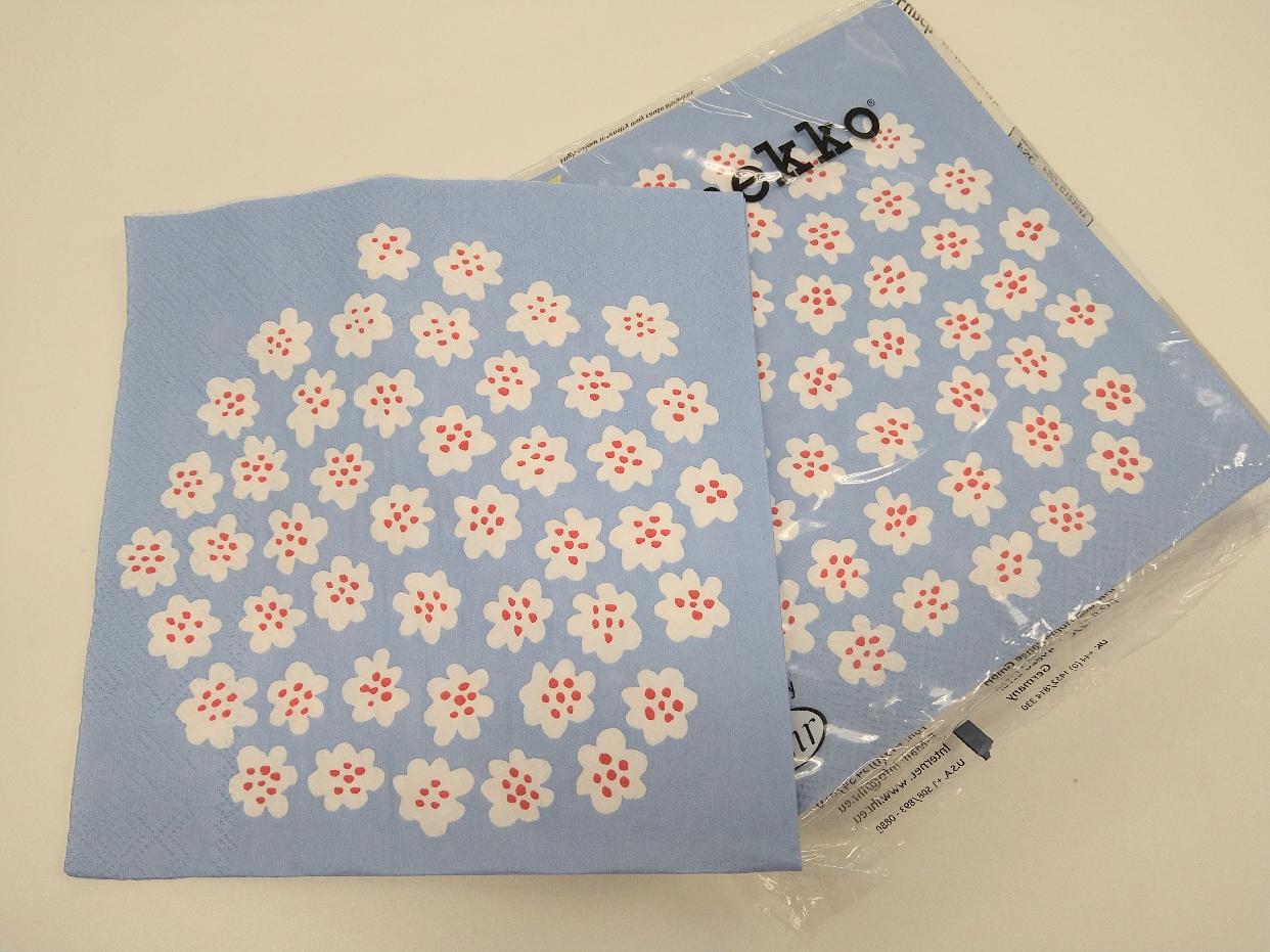 marimekko(マリメッコ)ペーパーナプキン ウニッコを使った高橋 佐知さんのクチコミ画像1