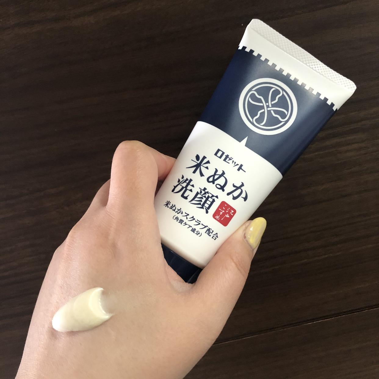 ROSETTE(ロゼット) 江戸こすめ 米ぬか洗顔を使った繭さんのクチコミ画像3