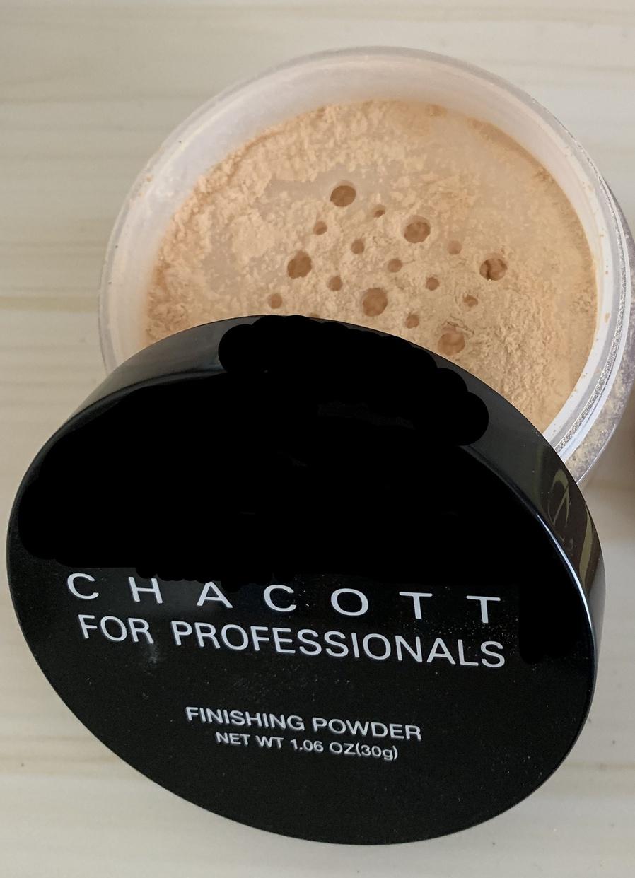 CHACOTT FOR PROFESSIONALS(チャコット フォー プロフェッショナルズ) フィニッシングパウダーを使ったshizukuさんのクチコミ画像