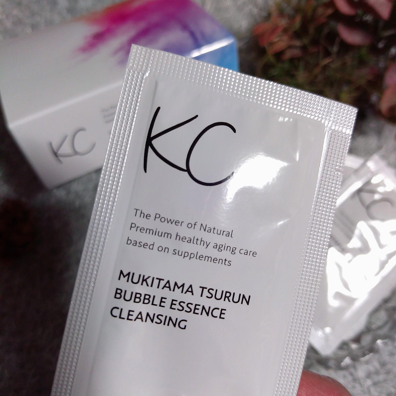 ハーブ健康本舗 KC むきタマつるん 発泡美容液クレンジングの良い点・メリットに関するまるもふさんの口コミ画像3