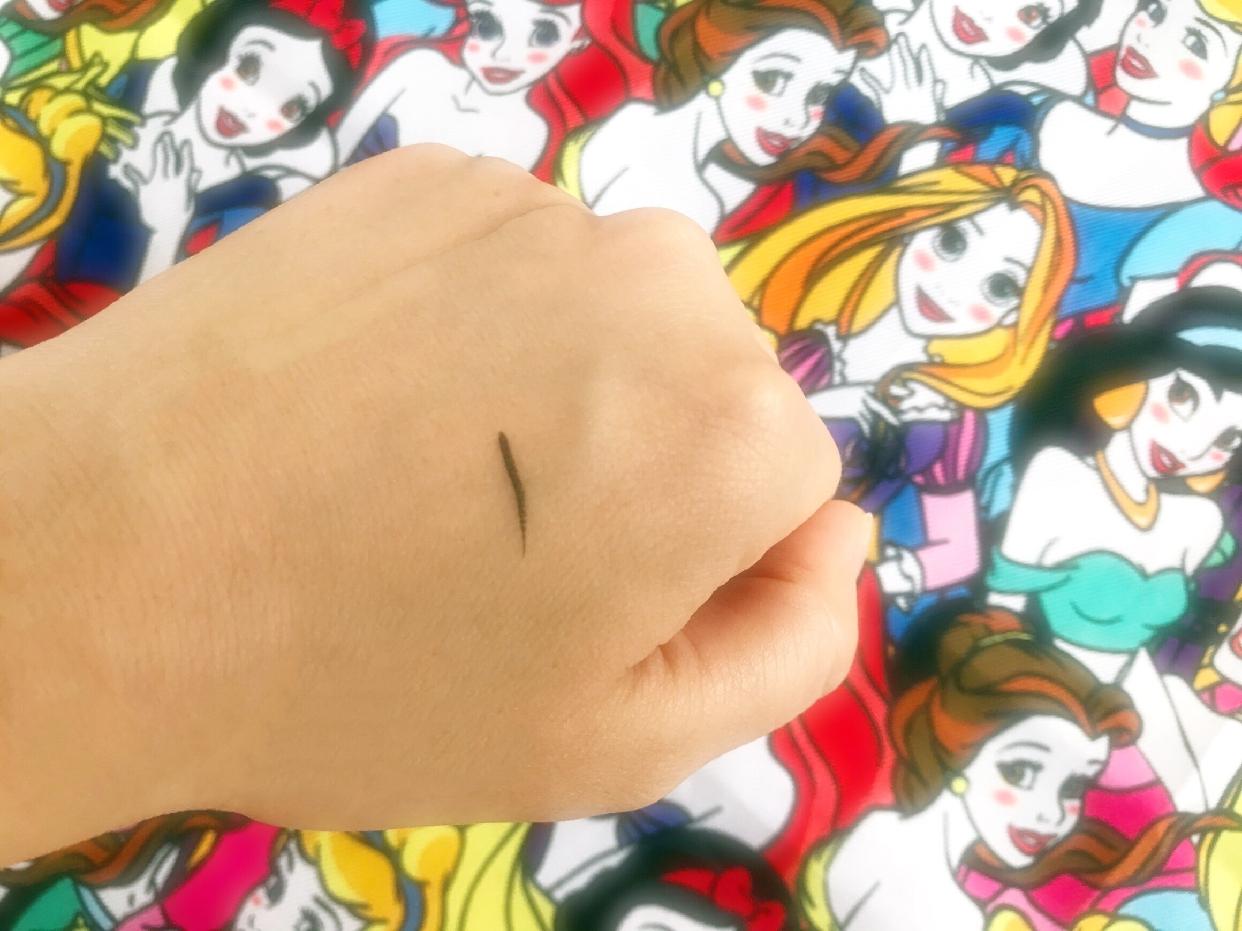 ヒロインメイクスムースリキッドアイライナー スーパーキープを使った             土肥 真依子さんのクチコミ画像2