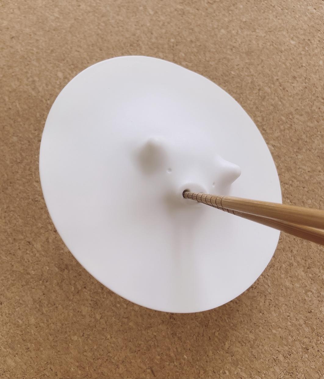 MARNA(マーナ)コブタの落としぶた ホワイト K091を使ったfumikaさんのクチコミ画像6