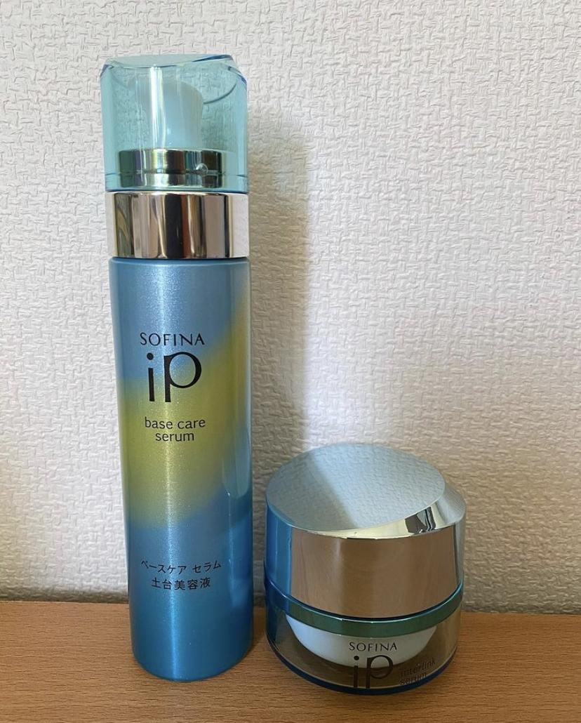 SOFINA  iP(ソフィーナ アイピー) インターリンクセラム 毛穴の目立たない澄んだうるおい肌へを使ったtarako4さんのクチコミ画像2