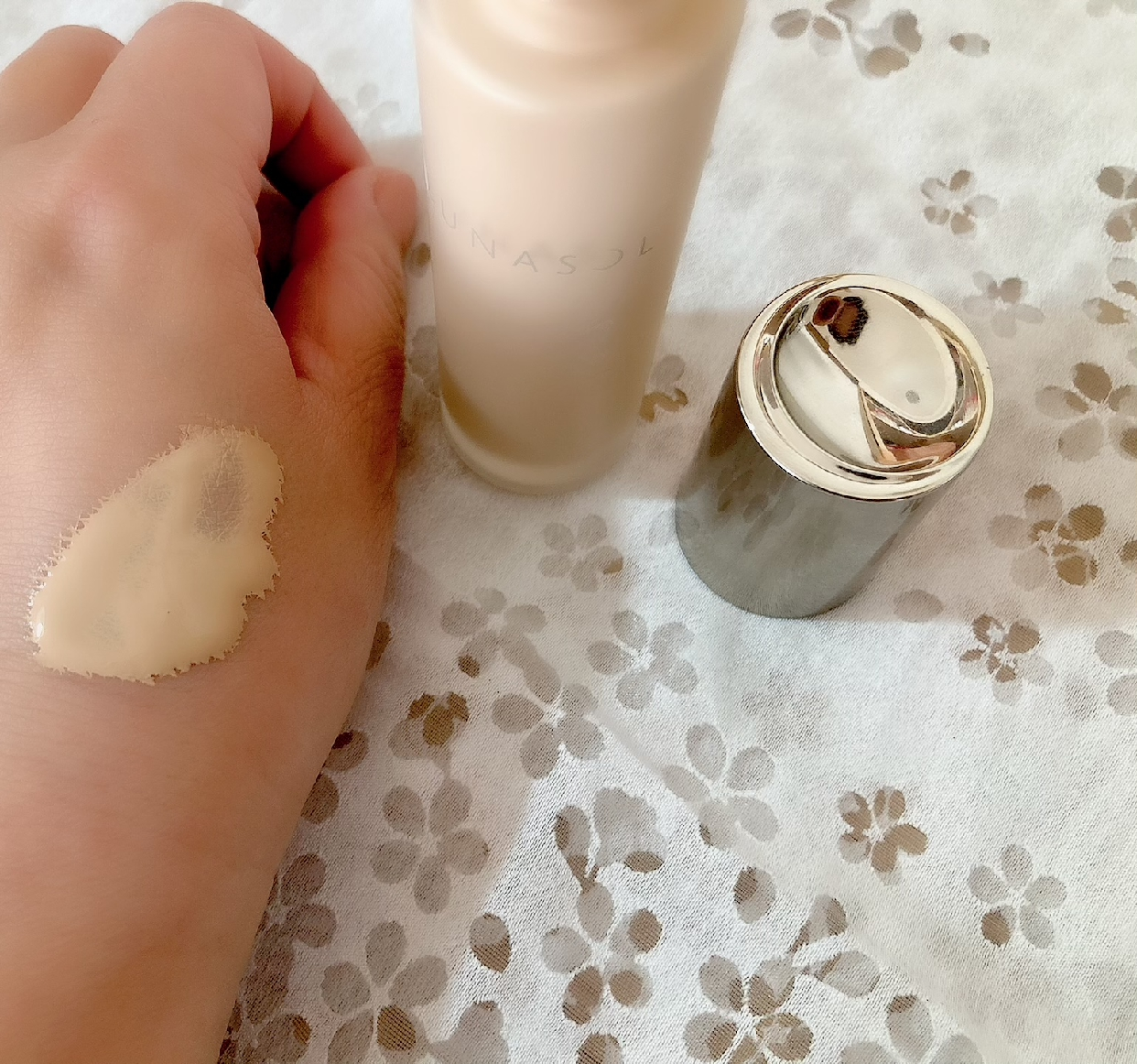 LUNASOL(ルナソル)グロウイングウォータリーオイルリクイドを使った             メグさんのクチコミ画像2