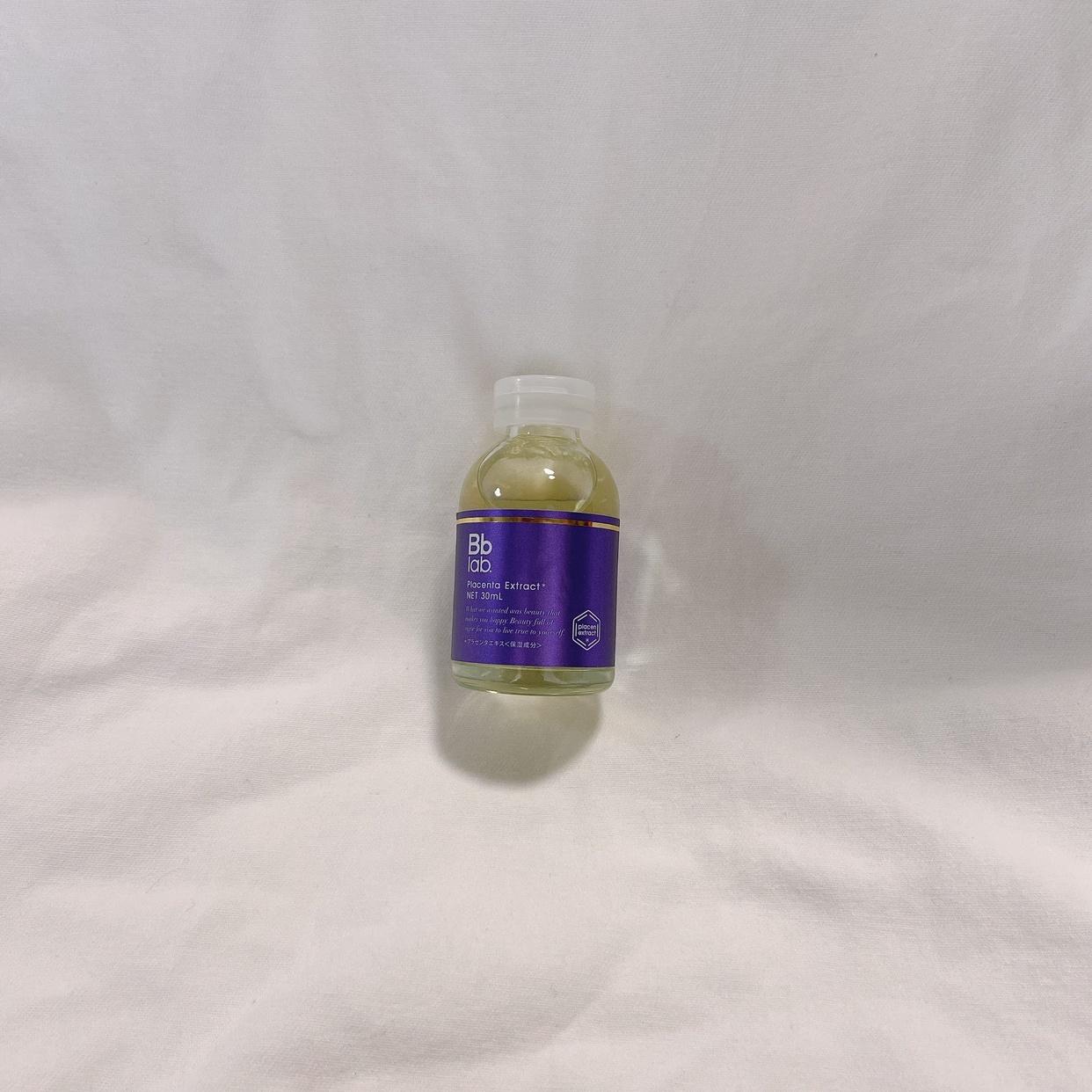 BB LABORATORIES(ビービーラボラトリーズ) 水溶性プラセンタエキス原液を使ったnanaさんのクチコミ画像1