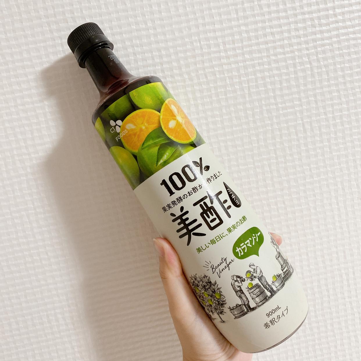 美酢(ミチョ) 美酢を使ったちーこすさんのクチコミ画像1