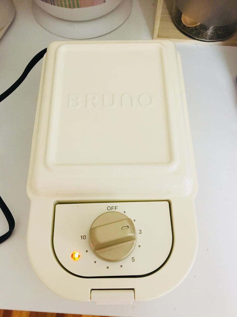 BRUNO(ブルーノ)ホットサンドメーカー シングル BOE043を使ったeriさんのクチコミ画像2