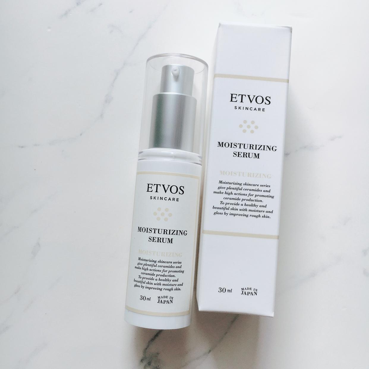 ETVOS(エトヴォス) モイスチャライジングセラムの良い点・メリットに関するyonna.sさんの口コミ画像1
