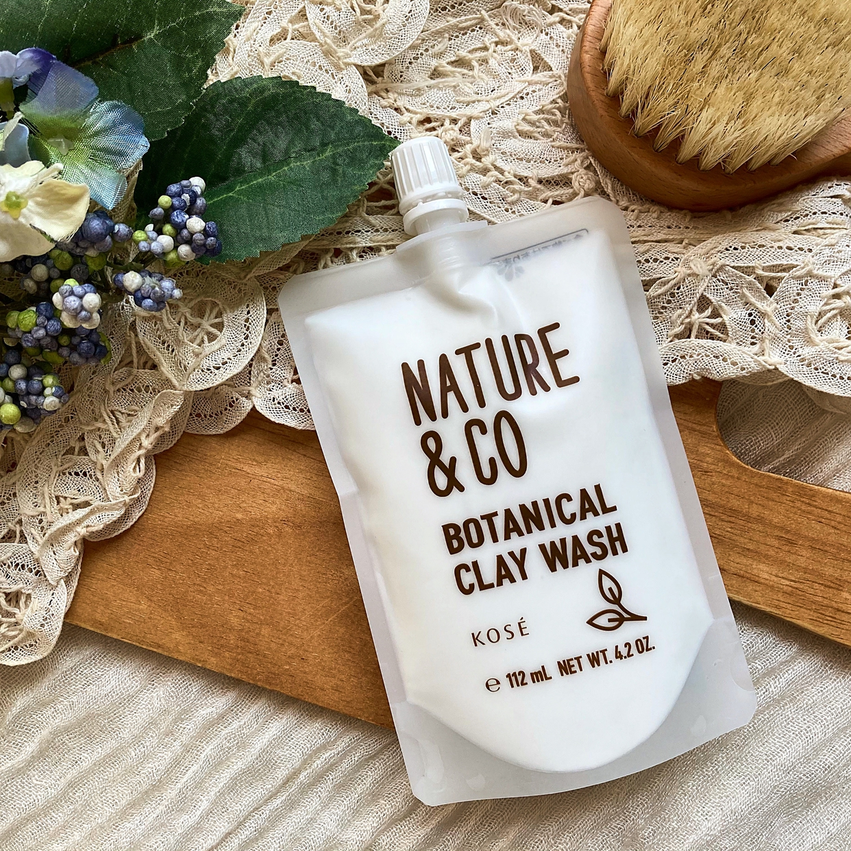 Nature&Co(ネイチャーアンドコー) ボタニカル クレイ ウォッシュを使った梅ちゃんさんのクチコミ画像1