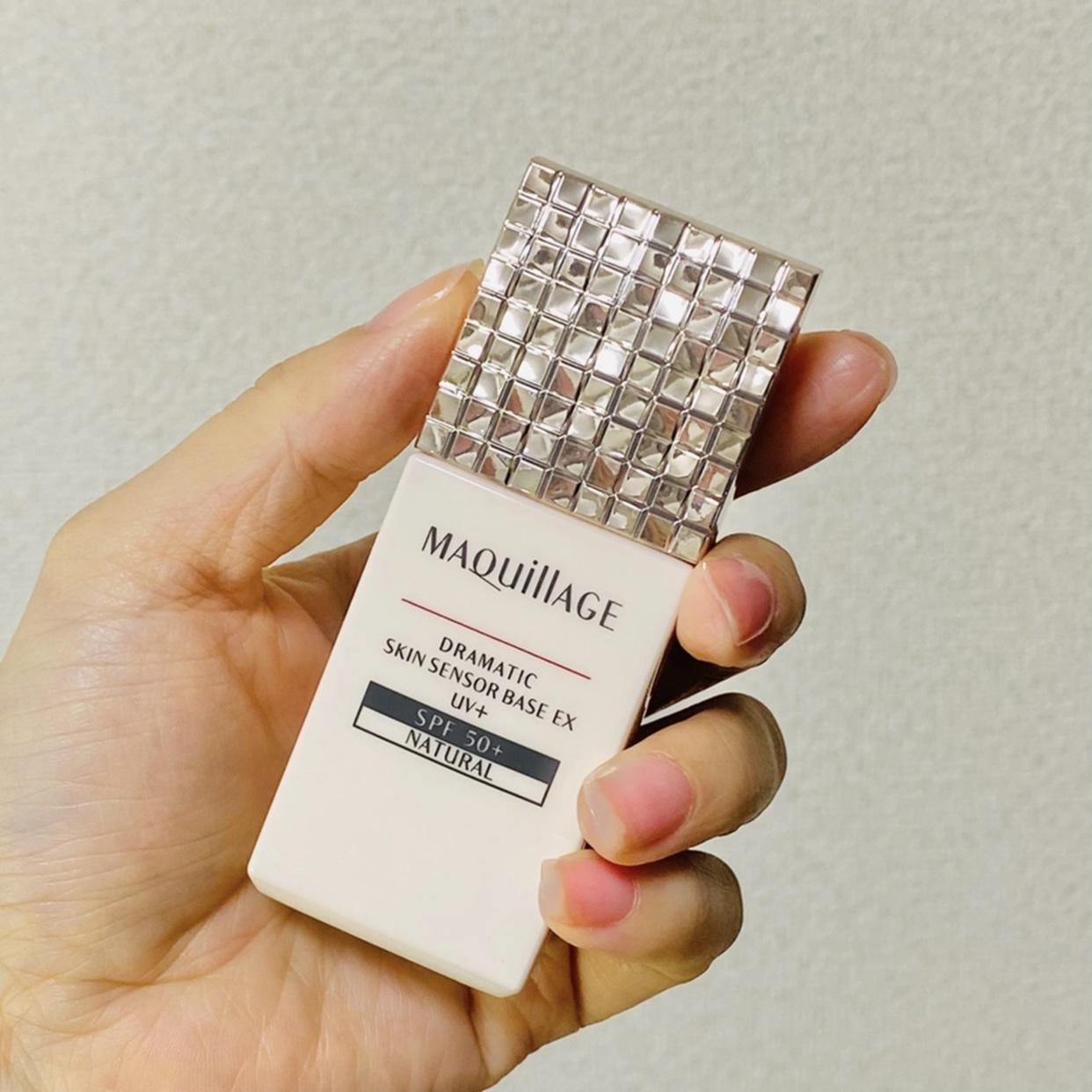 MAQUillAGE(マキアージュ) ドラマティックスキンセンサーベース EX UV+を使ったminoriさんのクチコミ画像