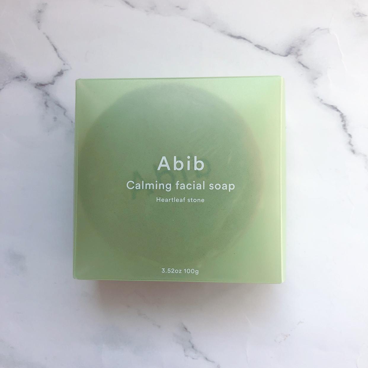 Abib(アビブ) カーミングフェイシャルソープの良い点・メリットに関するs_c_kさんの口コミ画像2