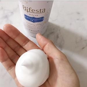 Bifesta(ビフェスタ)泡洗顔 ブライトアップを使った あんこさんの口コミ画像2