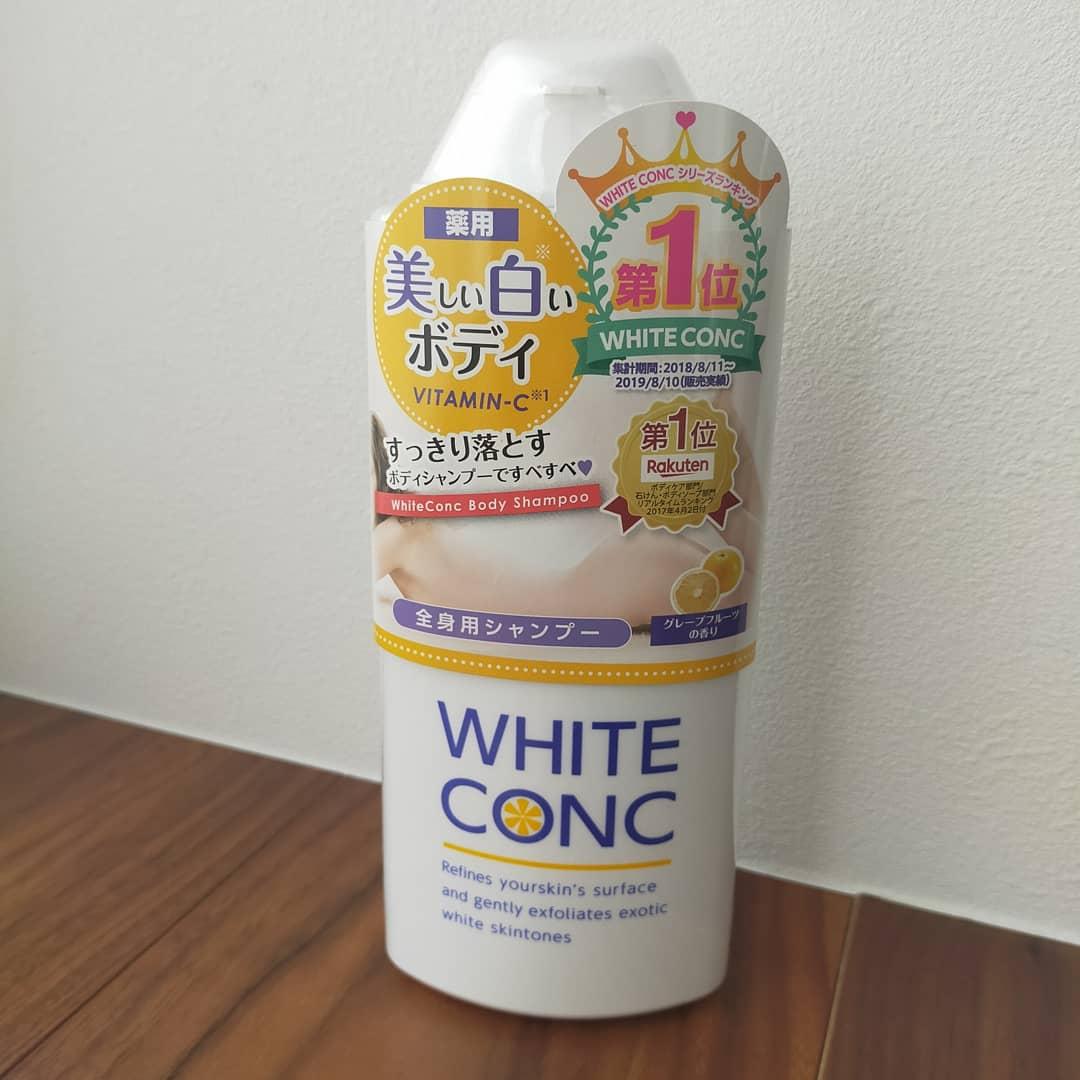 white conc(ホワイトコンク) 薬用ホワイトコンク ボディシャンプーC IIに関するyosakuotomisanさんの口コミ画像1