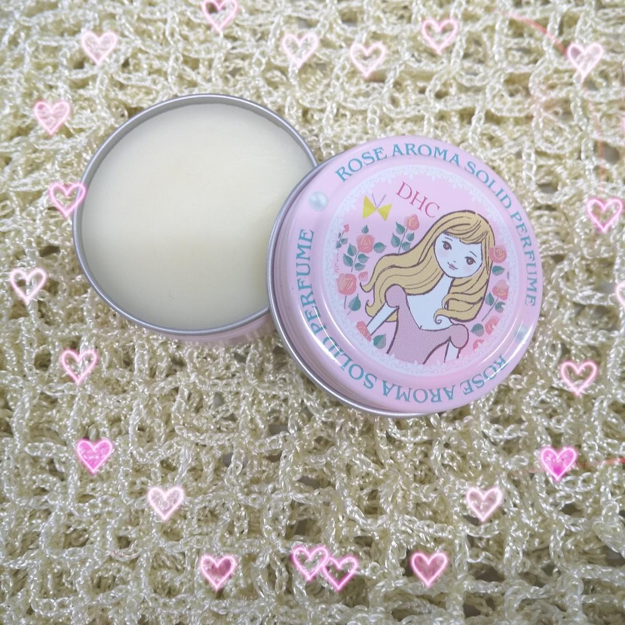 DHC(ディーエイチシー)ローズアロマ ソリッド パフューム a (練り香)を使ったカサブランカさんのクチコミ画像1