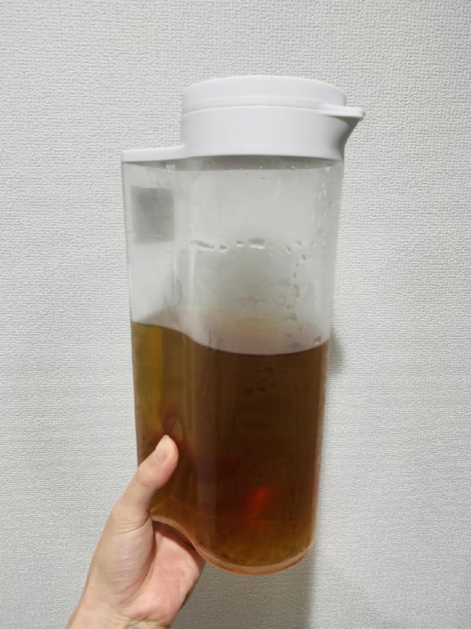 無印良品(MUJI)アクリル冷水筒 冷水専用約2L 44220931を使ったとまとさんのクチコミ画像1