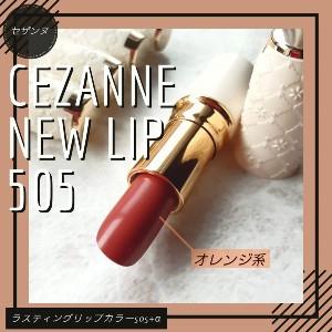 CEZANNE(セザンヌ) ラスティング リップカラーNを使ったちみみさんのクチコミ画像