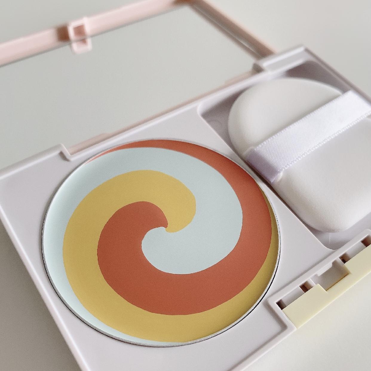 diem couleur(ディエムクルール)カラーブレンドコンシーリングパウダーを使ったスピリチュアルカウンセラーあいさんのクチコミ画像3