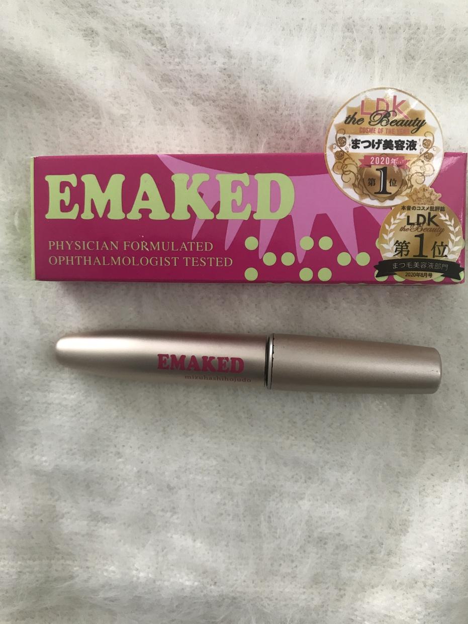 水橋保寿堂製薬EMAKED(エマーキット)を使ったpikaさんのクチコミ画像1