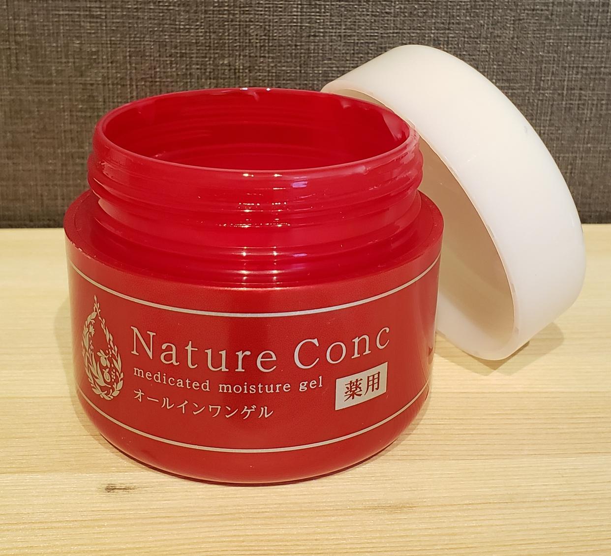 Nature Conc(ネイチャーコンク) 薬用モイスチャーゲルの良い点・メリットに関するMkpooさんの口コミ画像1