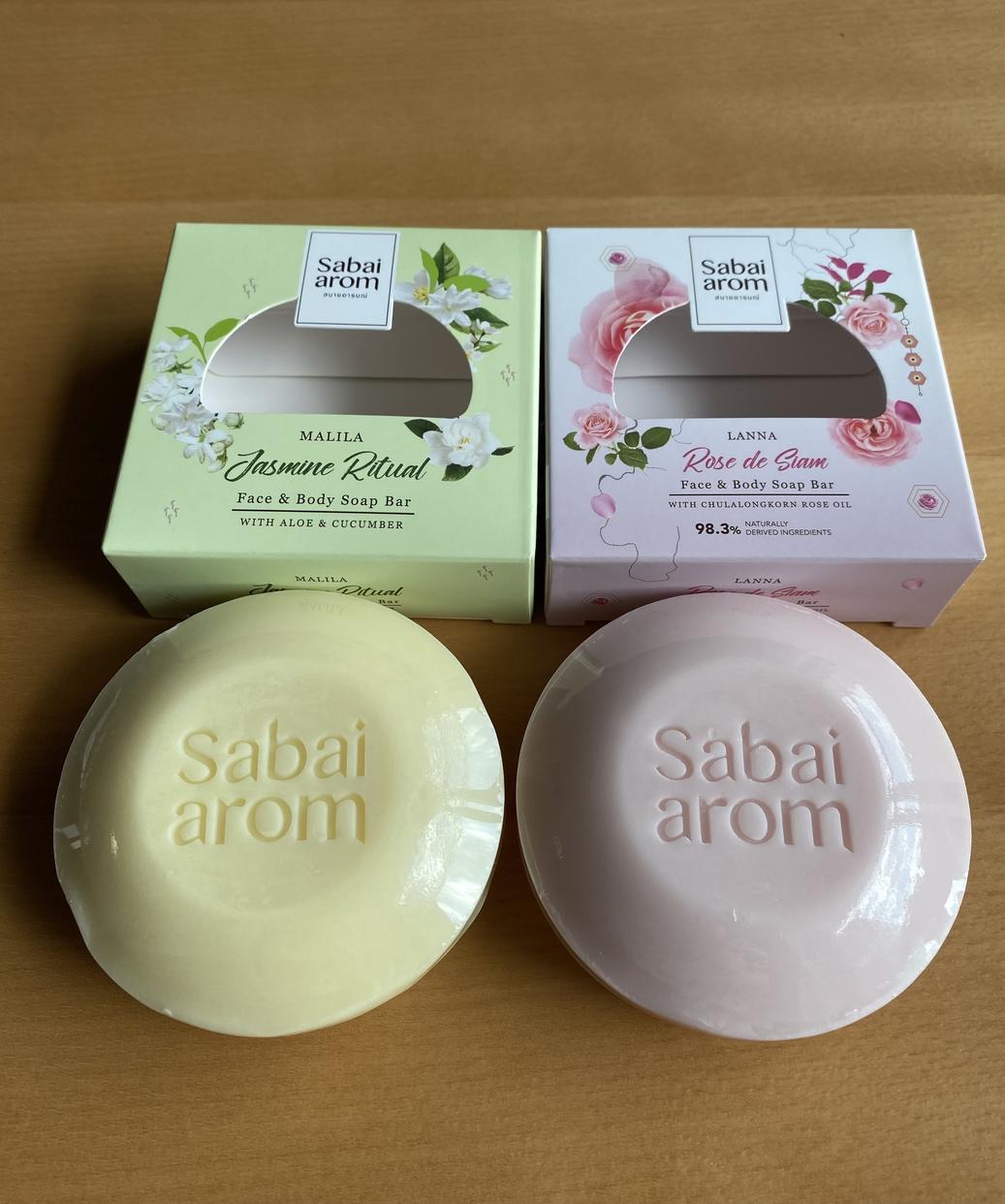 Sabai arom(サバイアロム) フェイス&ボディソープバーを使ったLunaさんのクチコミ画像1