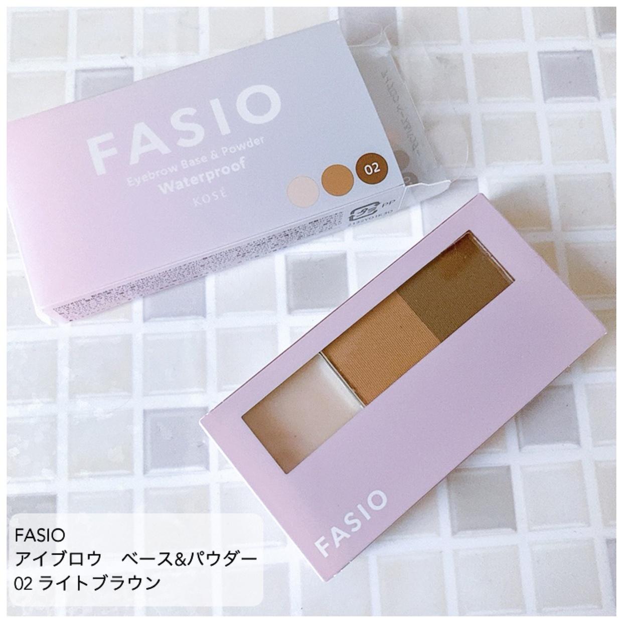 Fasio(ファシオ) アイブロウ ベース&パウダーを使ったrinqさんのクチコミ画像1