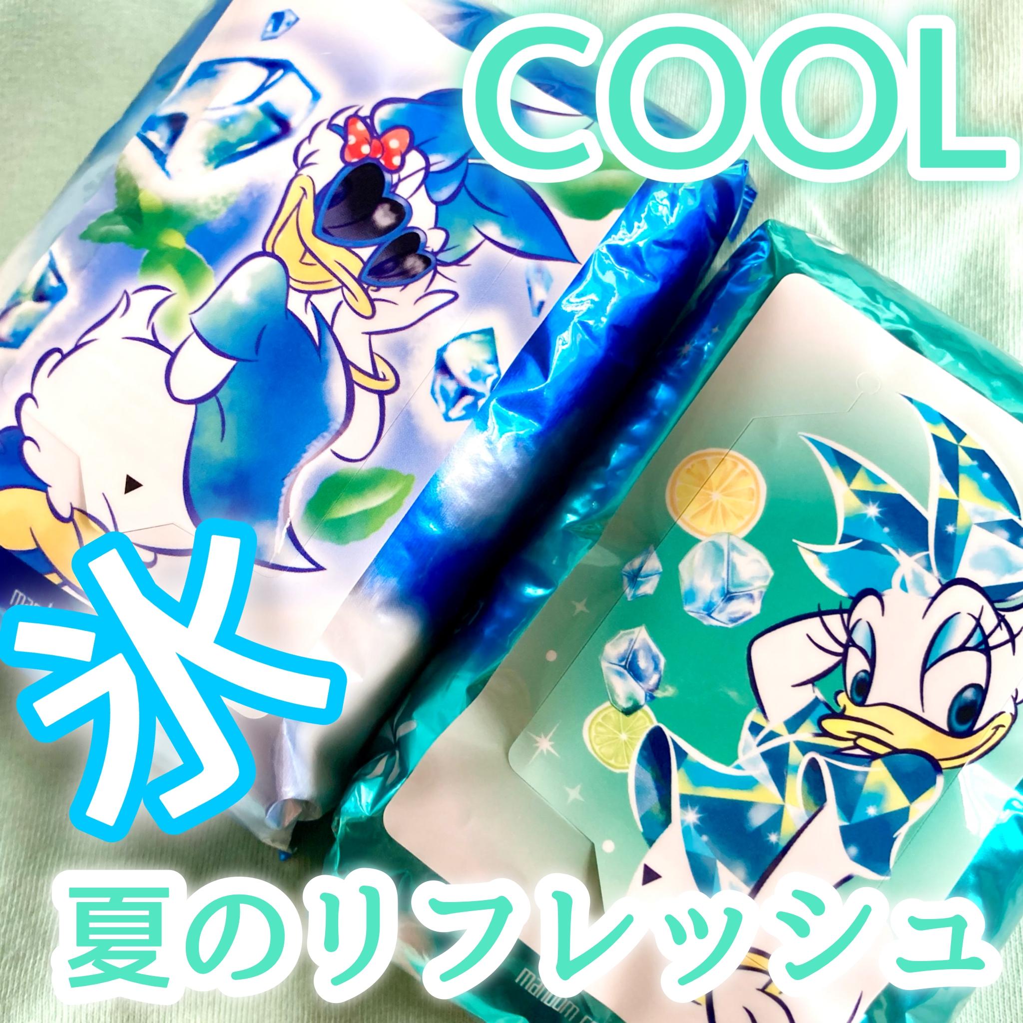 Happy Deo(ハッピーデオ)ボディシート 氷冷アイスダウンを使った☆ふくすけ☆さんのクチコミ画像1
