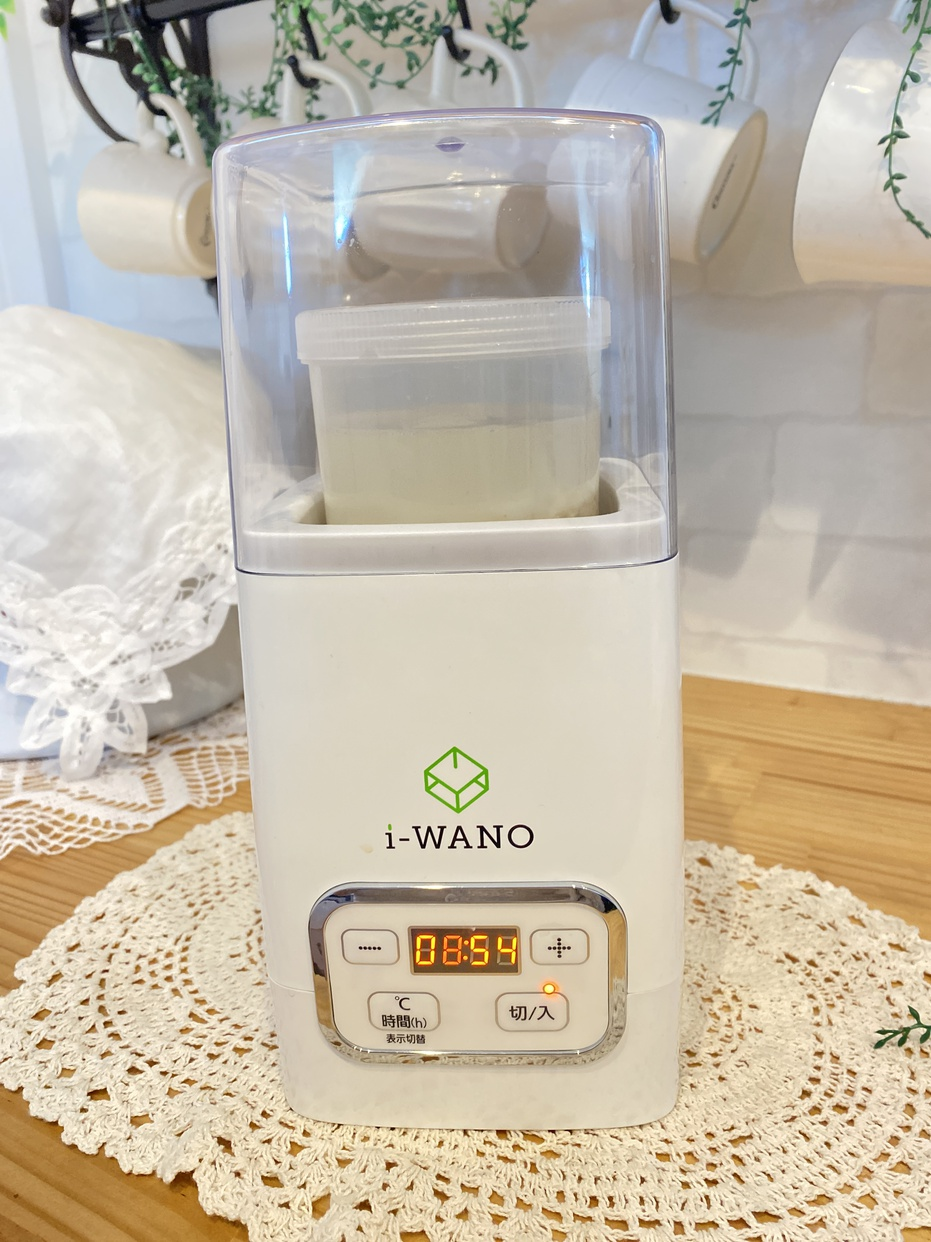 岩野(i-WANO)ヨーグルトメーカーを使ったju_mo_aさんのクチコミ画像1