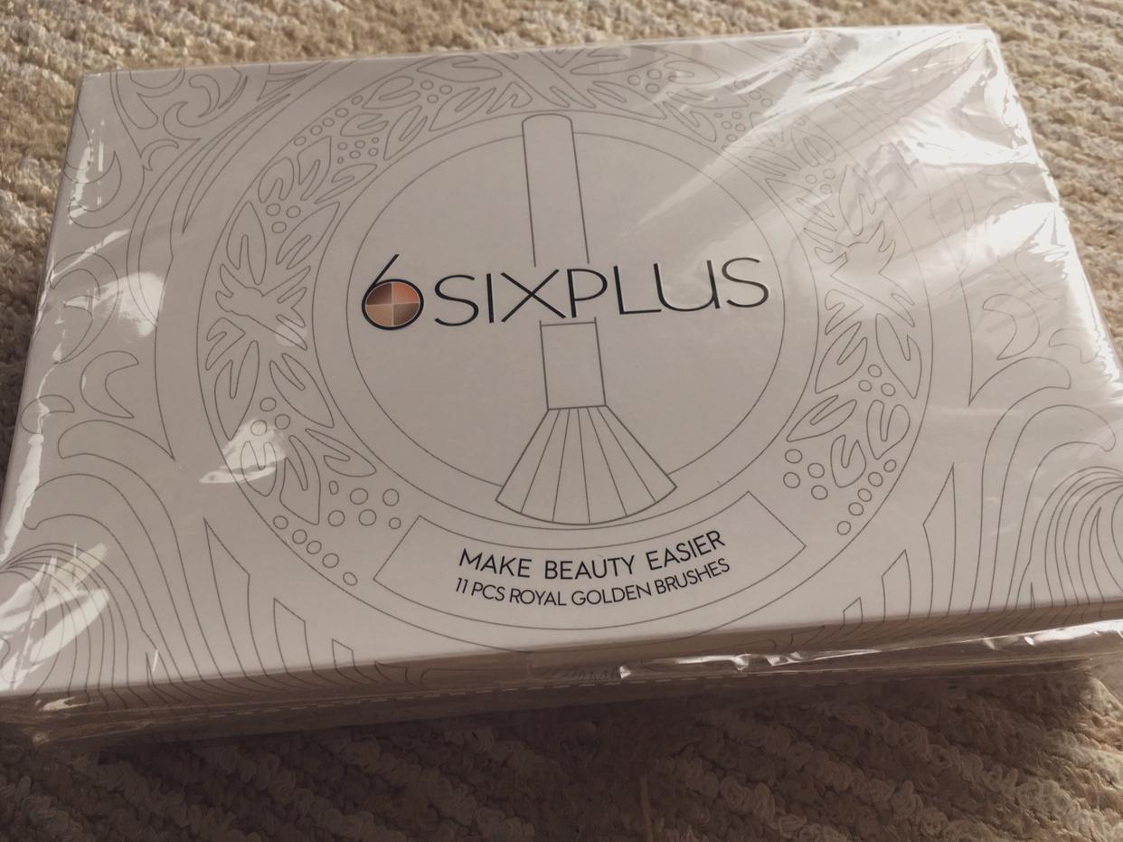 SIXPLUS(シックスプラス)貴族のゴールドメイクブラシセット 11本セットを使ったときのんたまごさんのクチコミ画像1
