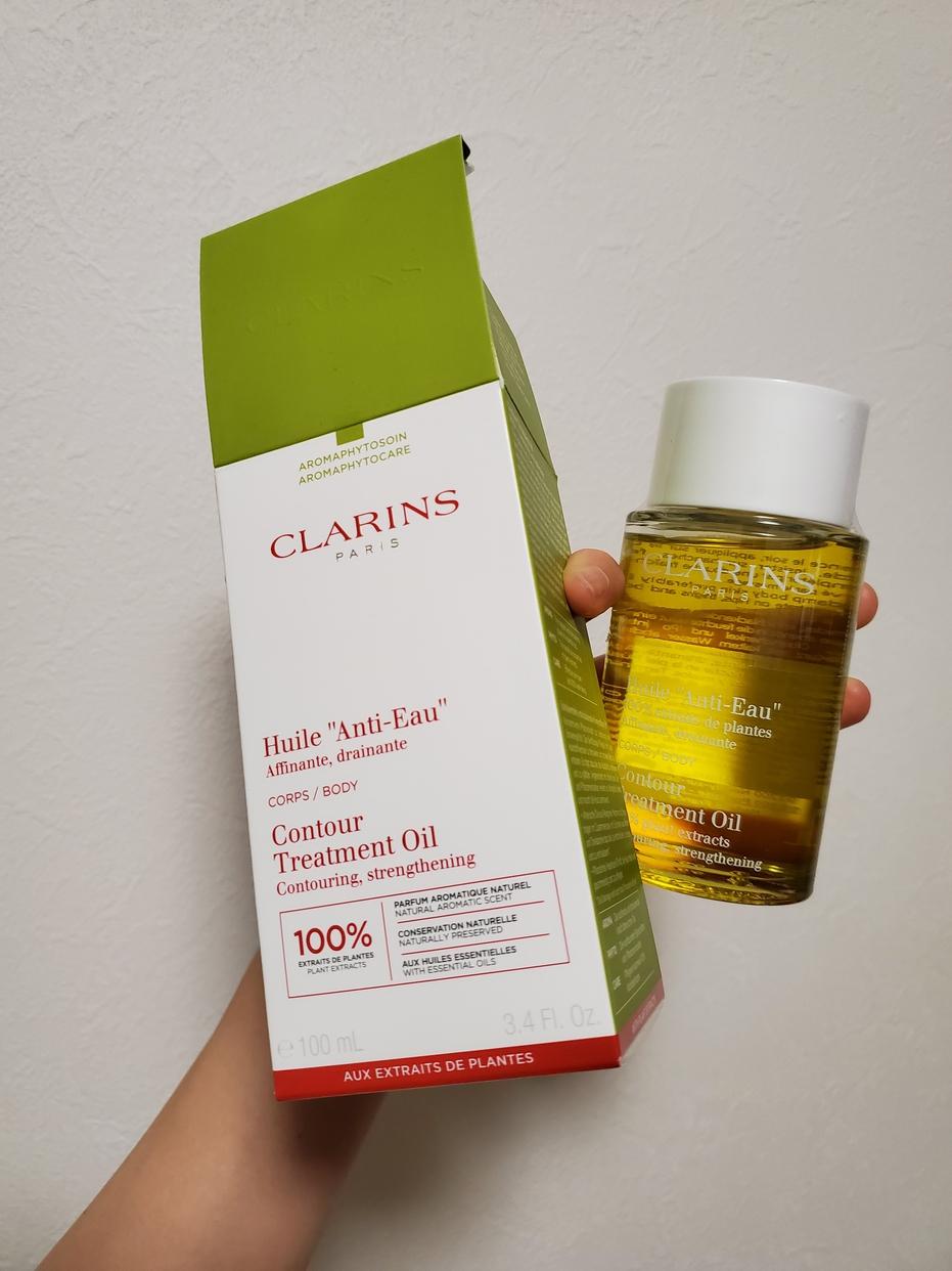 CLARINS(クラランス)ボディ オイル アンティ オーを使ったきなこおもちさんのクチコミ画像1