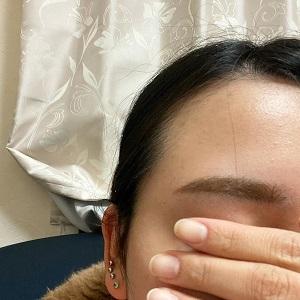 UR GLAM(ユーアーグラム)アイブロウマスカラを使ったmiyukiさんのクチコミ画像4