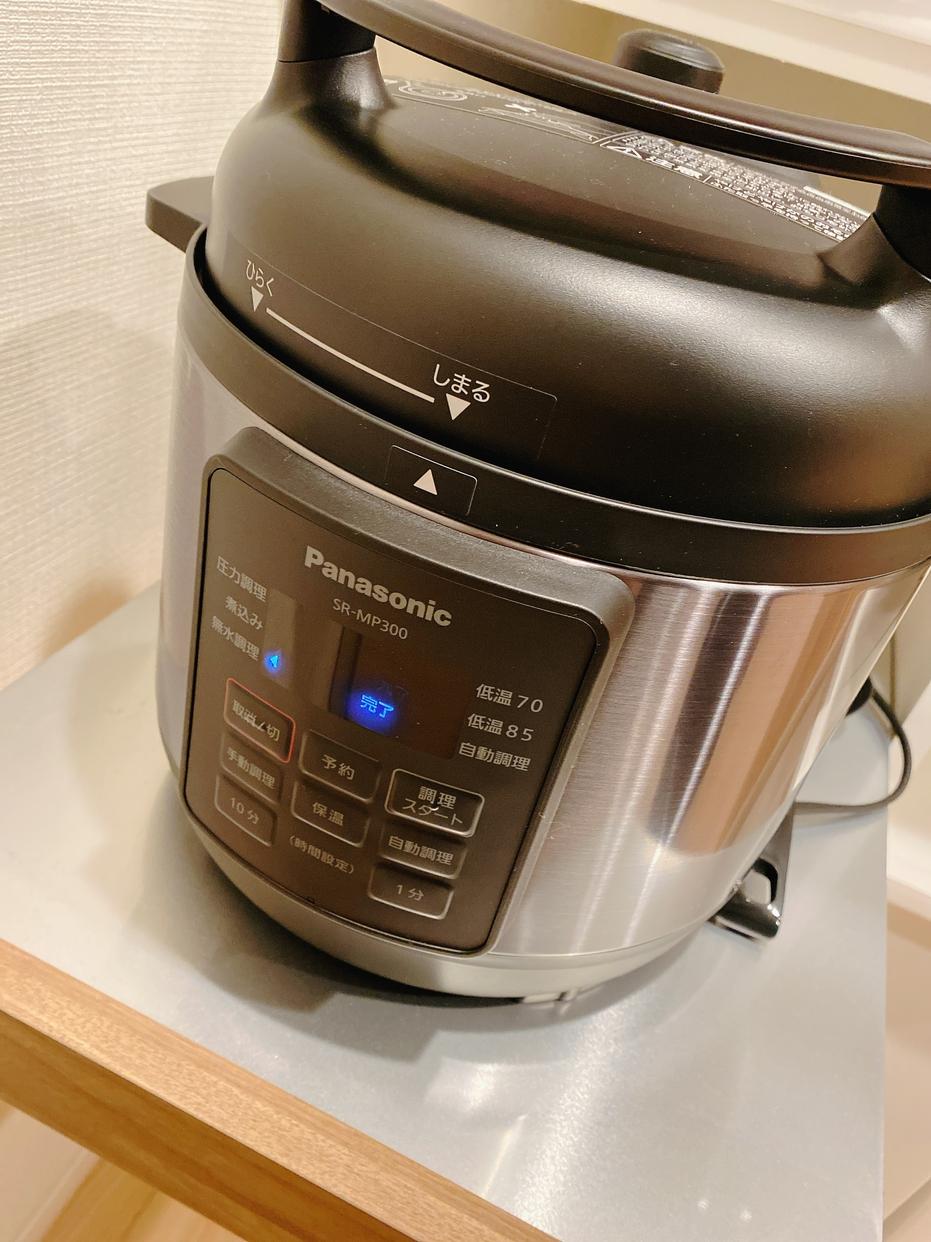 Panasonic(パナソニック)電気圧力なべ ブラック SR-MP300-Kを使ったeriさんのクチコミ画像1