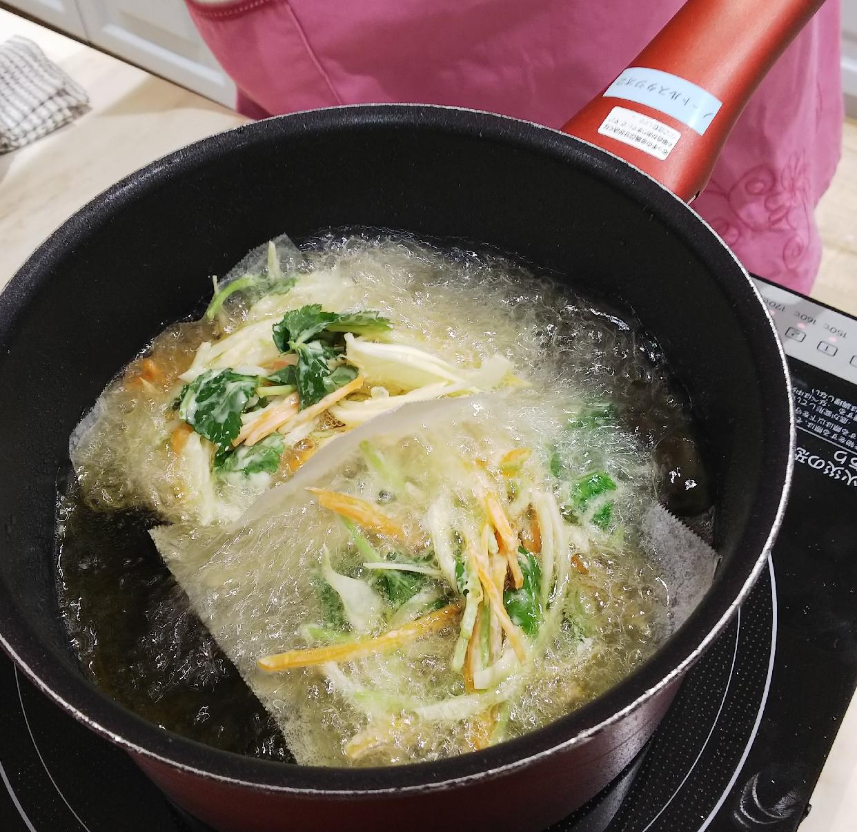 T-fal(ティファール)IHルビー・エクセレンス ソースパン 18cmを使った東 洋美さんのクチコミ画像1